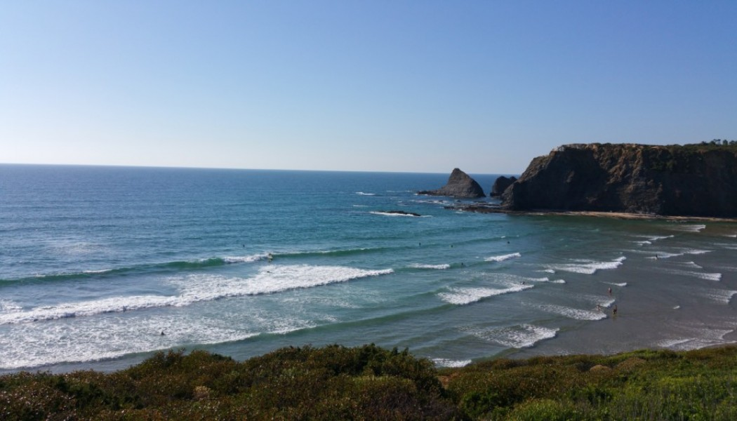 Odeceixe:  Surfing the South Coast of Portugal