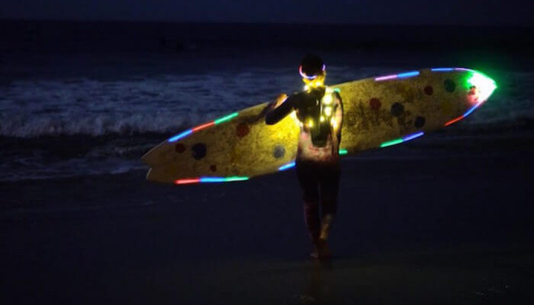Surfing the Supermoon with Kassia Meador