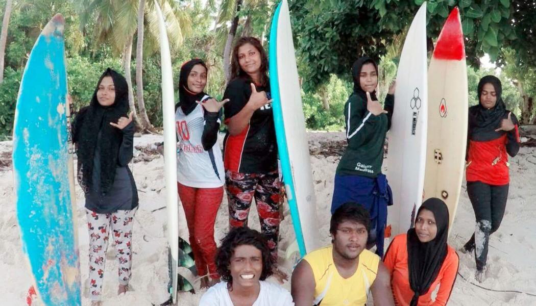 ISLAND GIRL: Maldives Surfer Sarah Mohamed