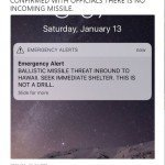 HAWAII GOES BALLISTIC: False Missile Alert Causes Choke Panic
